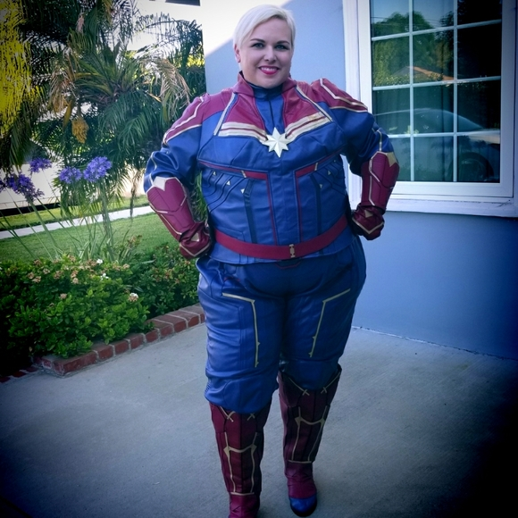 Sim Cosplay Other - Captain Marvel Cosplay